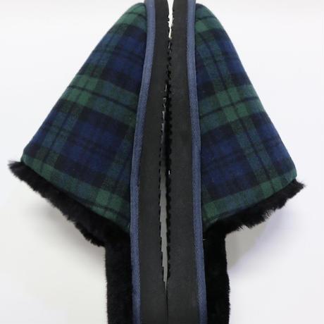 KITH FLANNEL SHERPA SLIPPER Blackwatch Size 43 (28cm)