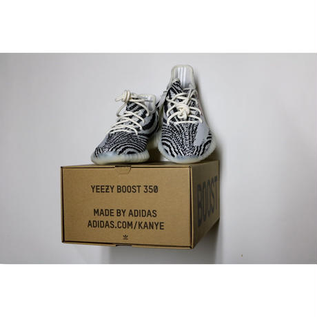adidas Originals yeezy boost 350 V2 ZEBRA DESIGN BY KANYE WEST  WHITE/CORE BLACK/RED  CP9654