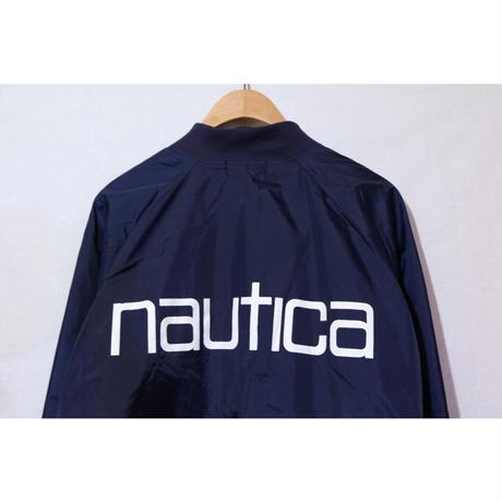 【古着】NAUTICA NYLON JACKET NAVY Size L
