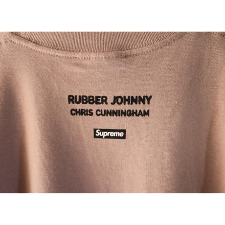 """Supreme Chris Cunningham """"Rubber Johnny"""" S/S Tee 18AW Taupe Size M"""