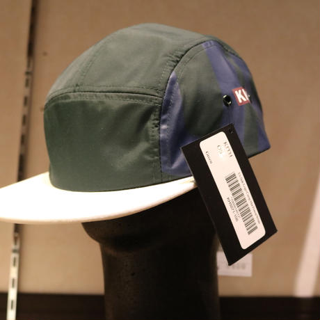 Kith Us Camp Hat (Forest Green / White)