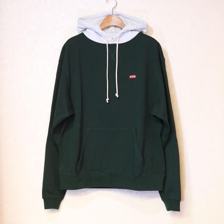 KITH WILLIAMS III CONTRAST HOODIE SCARAB Size L