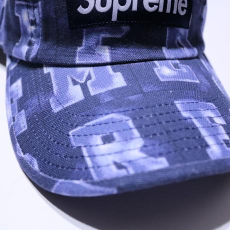SUPREME BLOCKS CAMP CAP NAVY
