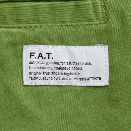 FAT UPPEROY ハーフパンツ グリーン スキニーサイズ