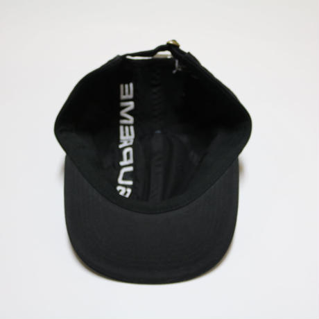 Supreme 2018FW Stripe 6 Panel Cap Black