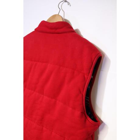 【古着】POLO RALPH LAUREN DOWN VEST Red Size XL
