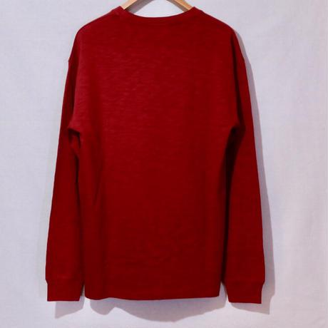 KITH JFK SLUB JERSEY L/S TEE Red Size M