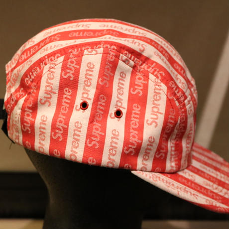 Supreme Jacquard Logo CAP (Red)