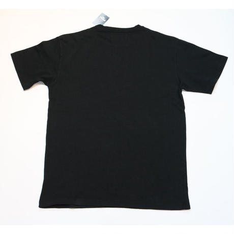 KITH Pigment Dyed Serif Tee Black L size