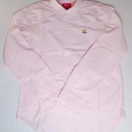 Supreme B.D Shirt Pink Stripe(M)