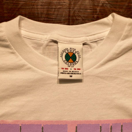 "CROSS COLOURS ""Left Eye"" S/S T-shirts White"