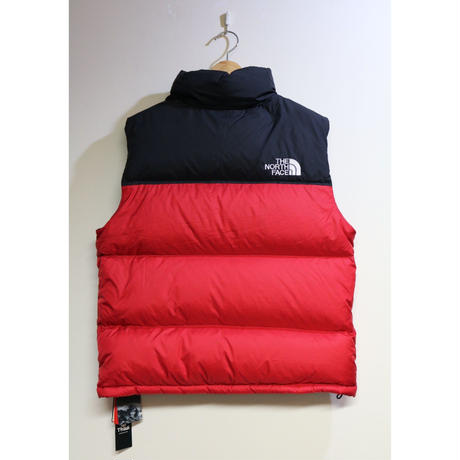 "THE NORTH FACE ""1996 RETRO NUPTSE VEST"" Black / Red Size US M / JP L"
