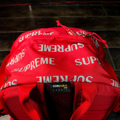 Supreme バックパック(レッド)