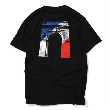 LFYT エルエフワイティー WASHINGTON SQUARE ARCH TEE 半袖 Tシャツ LA200108 BLACK ブラック Size XL