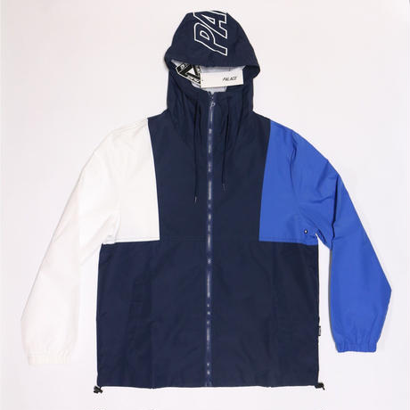 PALACE Skateboads Running Jacket Navy×Blue×White <L>
