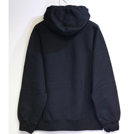 Supreme 18FW Chainstitch Hooded Sweatshirt Black L size