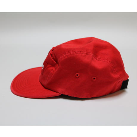 SUPREME 18AW Snap Button Pocket Camp Cap Red キャンプキャップ