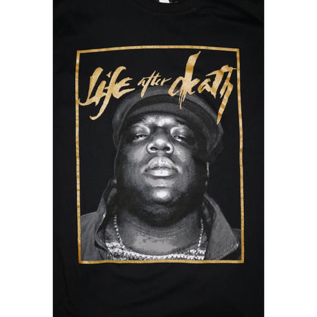 LIFE AFTER DEATH NORTORIOUS B.I.G. S/S Tee Black Size XL