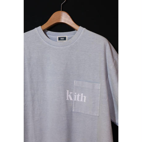 KITH QUINN T SHIRT Light Indigo Size M