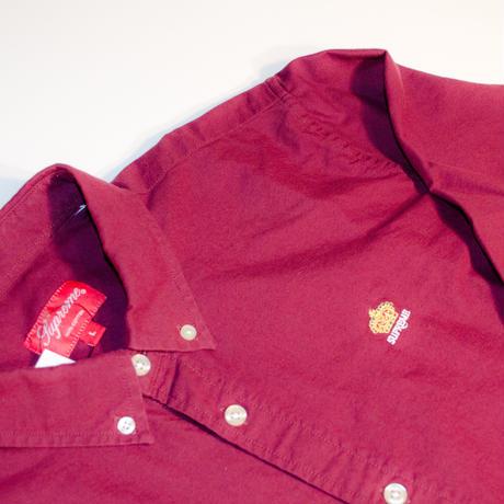 Supreme B.D Shirt  Burgundy(エンジ)