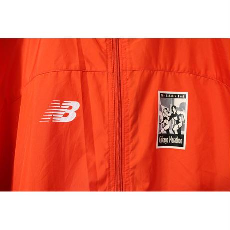【古着】CHICAGO MARATHON NEW BALANCE NYLON JACKET Orange Size L