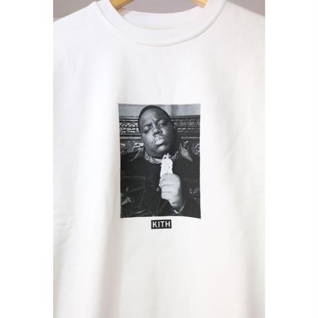 KITH x The Notorious B.I.G Mo Problems Sweatshirt White Size S