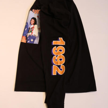 "CROSS COLOURS ""TLC 1992"" L/S T-shirt Black"