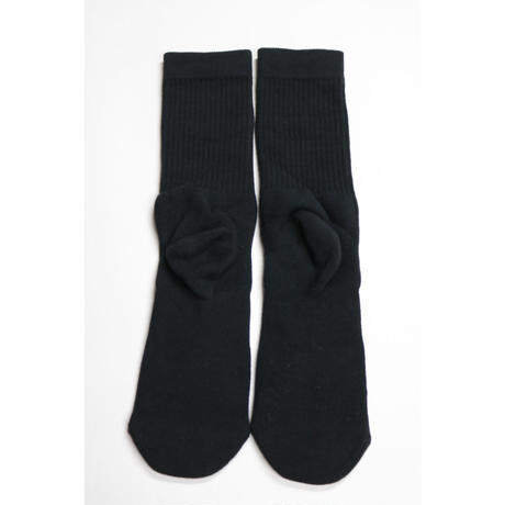 KITH CLASSIC LOGO STANCE SOX Black Size L (US 9-12 , JP 27-30cm)