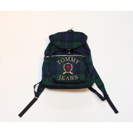 TOMMY JEANS Crest Capsule Plaid Backpack トミージーンズ リュック バックパック