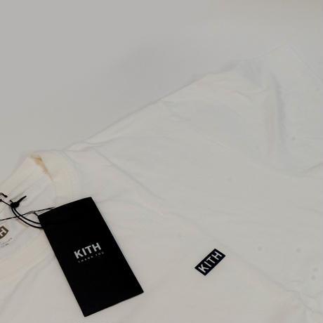 KITH MINI CHEST BOX LOGO TEE WHITE <L>