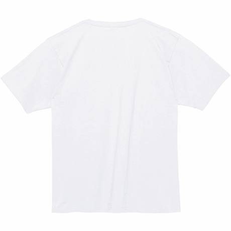 ゆるドットで「こんにちわ」Heavy Weight Tシャツ カラー:ホワイト