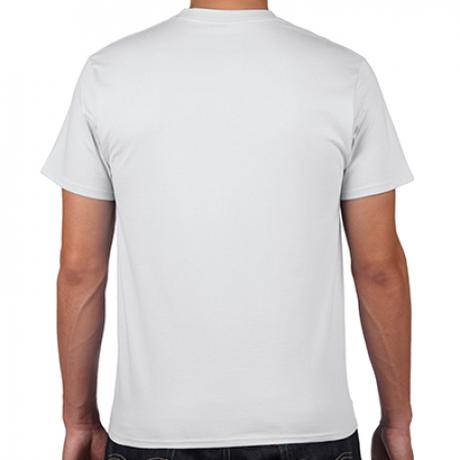 パンクでアメリカンな「愛と想像力」Tシャツ カラー:ホワイト