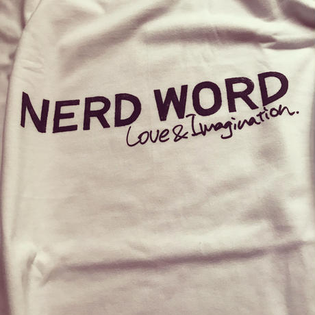 ワンサイズUPで世界が変わる「Love & Imagination」Heavy Weight Tシャツ カラー:ホワイト