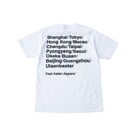 EAST ASIAN CITIES TEE (WHITE)