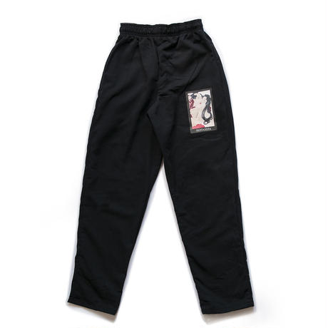 FANTASISTA BAGGY CHEF PANTS  (BLACK)