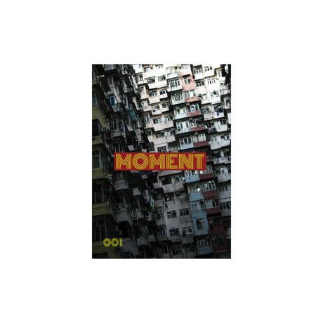 """TRAVEL ZINE """"MOMENT"""" 001"""