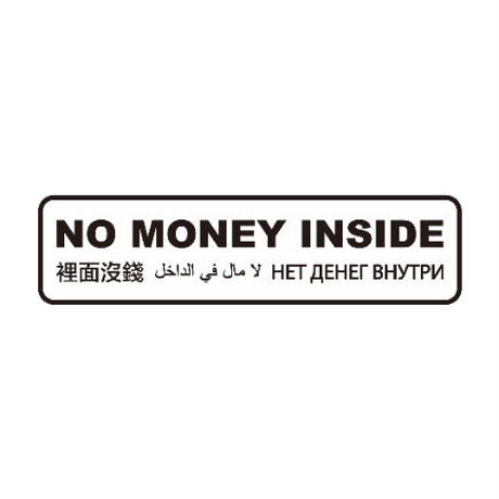 NO MONEY INSIDE TRAVEL WALLET