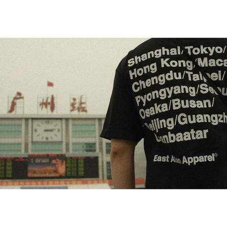 EAST ASIAN CITIES TEE (BLACK)
