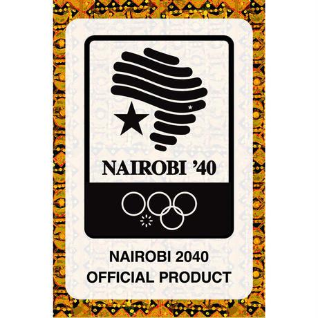 NAIROBI '40 OFFICIAL CANVAS BAG