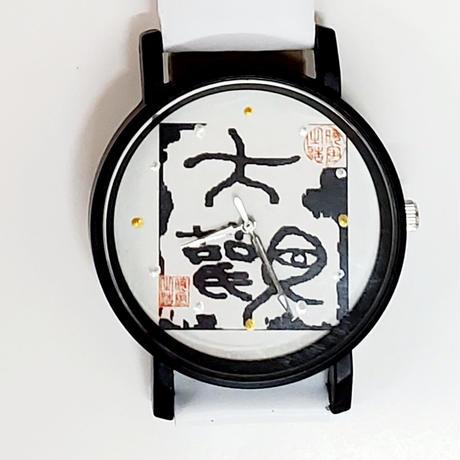 お好きな絵や書を文字盤に✨世界に一つだけの腕時計を【メタルフレーム】でお造りします。