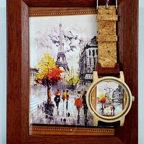 【江戸の粋】木製の腕時計『自然のぬくもりを日常の生活に』