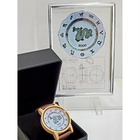 お好きな絵や書を文字盤に✨世界に一つだけの腕時計をお造りします。