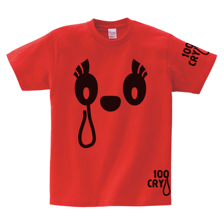 Tシャツ:100 CRY