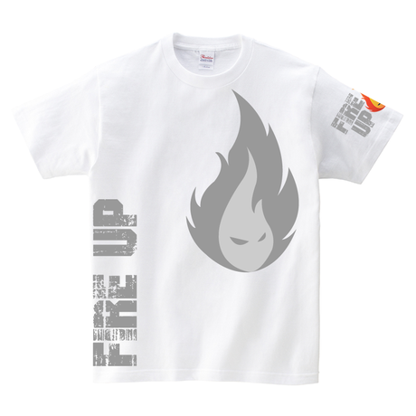 Tシャツ:FIRE UP 02