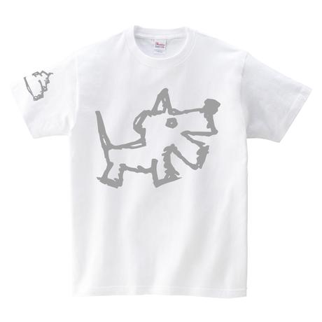 Tシャツ:犬の落し物01