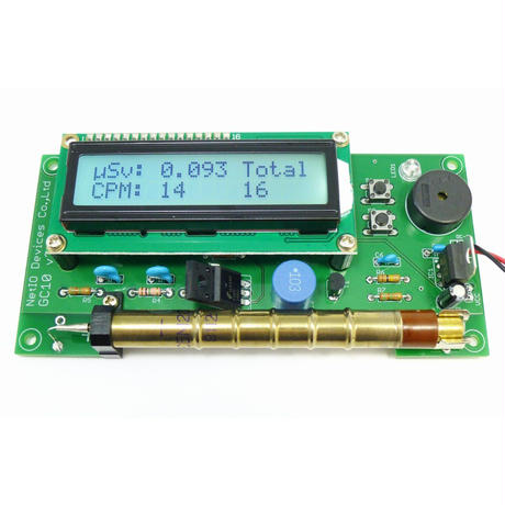NetIO GC10 Geiger Counter Kit