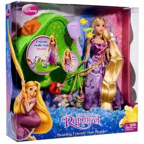 塔の上のラプンツェル Tangled マテル Mattel Toys 人形 おもちゃ Disney Braiding Friends Hair Braider Doll