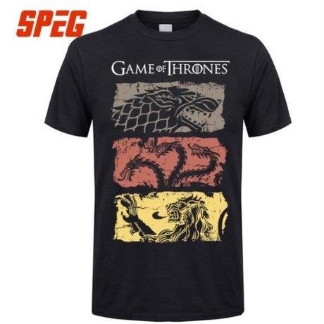 ゲーム・オブ・スローンズ Game of Thrones  Tシャツ②  ブラック