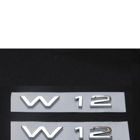 アウディ ステッカー エンブレム Audi A8 S8 R8 W12 フェンダー サイド ボディ 装飾 h00326