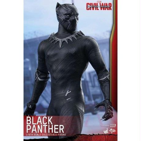 ブラックパンサー Black Panther ホットトイズ Hot Toys フィギュア Marvel Civil War Movie Masterpiece Collectible Figure